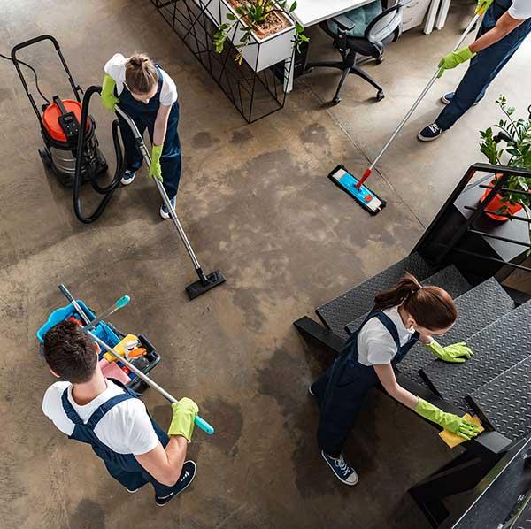 Saubermann GmbH - Gebäudereinigung München - Reinigung eines Büros